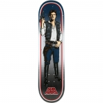 Santa Cruz Star Wars Han Solo Skateboard Deck 8.26