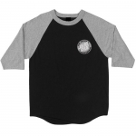 Santa Cruz Other Dot Raglan Tee