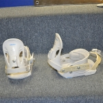 Head P1W Snowboard Bindings White - Medium