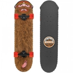 Santa Cruz Jeremy Fish LTD Weird Beard Cruzer Complete Skateboard 32.4