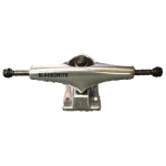 Black Smith Low Skateboard Trucks Raw Polished