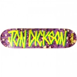 Deathwish John Dickson Gang Name Shrooms Skateboard Deck 8.125