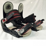 Burton CFX Snowboard Bindings Black/Red - Large