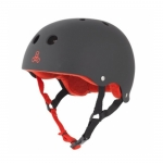 Triple Eight Brainsaver Rubber Skateboard Helmet