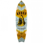 Arbor Collective GB Sizzler Shark Longboard Deck 31.75