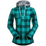 Volcom Circle Flannel Snowboard Jacket - Women's