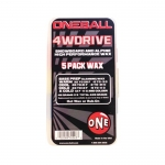 One Ball Jay 4WD Snowboard Wax 5 Pack - Assorted Temps