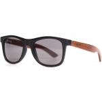 Cassette Yo Black/Red Lacewood Sunglasses