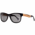 Cassette Young Blood Black Zebrawood Sunglasses
