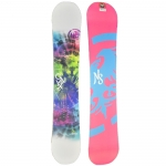 Never Summer Limited Edition Onyx Snowboard - Women's