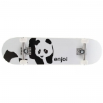 Enjoi Whitey Panda Kid's Complete Skateboard 7.3