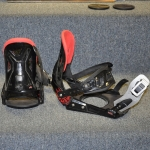 Lamar Snowboard Bindings Black - Large