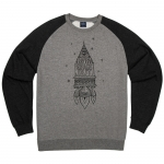 Gnu Space Out Fleece Crewneck