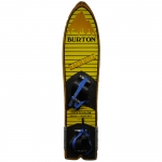 Burton Vintage 1984 Backhill Prototype Colorway - Yellow/Navy Blue