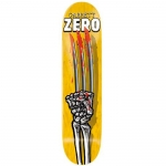 Zero Garrett Skeleton Hands Skateboard Deck 8