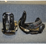 Burton Mission EST Snowboard Bindings Black - Large