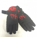 Demo Flame Kids' Gloves Black - Small