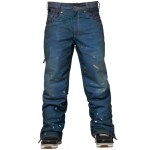 686 Parklan Destructed Denim Snowboard Pants
