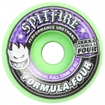 Spitfire Formula Four Full Conical Hot Green Skateboard Wheels 99a