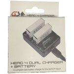 GoScope GoPro Hero 4 Charger With Spare Battery
