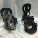 Burton Mission Snowboard Bindings w/ Toe Cap - Large