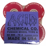 Acid Chemical Co Funner Longboard Wheels 60mm 78a