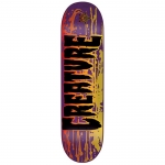 Creature Reverse Stain MED Skateboard Deck 8.26