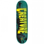 Creature Stained XS Skateboard Deck 7.4
