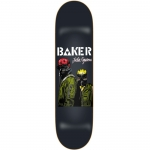 Baker Figgy Never Skateboard Deck 8.25