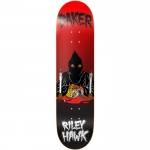 Baker Riley Hawk Executioner Neck Face Skateboard Deck 8.38