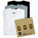 Burton 3 Pack Assorted Slim Fit Tees