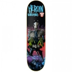 Heroin Dark Judges Mortis Skateboard Deck