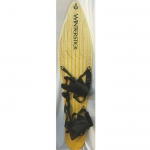 Winterstick Vintage 1983/84 Roundtail Snowboard Yellow/Cream