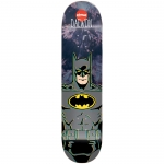 Almost Daewon Batman Tie Dye Mini Skateboard Deck 7