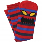 Toy Machine Monster Stripe Socks