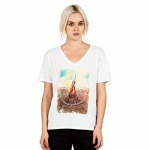 Volcom Bonfire V-Neck Tee - Women's