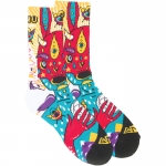 Gnu Moon Socks