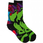 Lib Tech Green Girl Socks