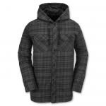 Volcom Burl Insulated Flannel Snowboard Jacket