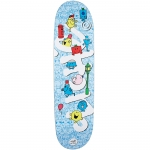 Cliche Mr. Men Team Directional Skateboard Deck 8.625
