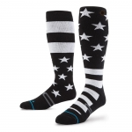 Stance Stars and Bars Snowboard Socks