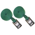 Malone 15' Load Straps - Green