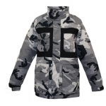 Pulse Snow Camo Snowboard Jacket - Kids'