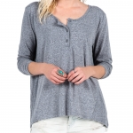 Volcom Hurry Up Henley - Women's