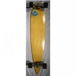 Salty Peaks Blank Pintail Natural Longboard - 46