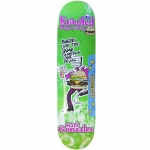 Krooked Gonz Burger Gang Skateboard Deck 7.75