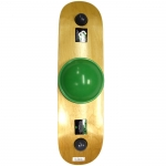Whirly Board Grip Deck - Green