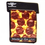 Buckle-Down Pepperoni Pizza Wallet