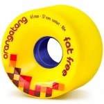 Orangatang Fat Free Longboard Wheels 86a