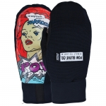 Pow Every Day Snowboard Mittens